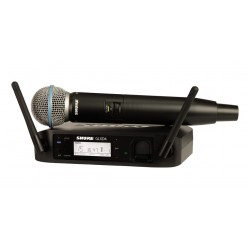 Shure GLXD24 BETA58  Radiomicrofono