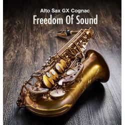 Forestone GX Cognac Vintage Alto Sax