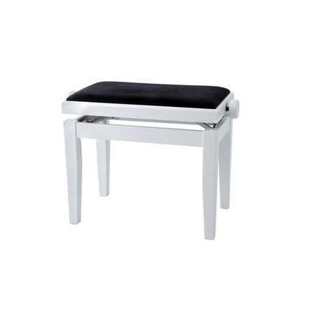Gewa 130020 Panchetta Legno Tastiera/Pianoforte Bianco Satinato