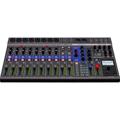 Zoom L12 Mixer Digitale 12 Canali Registratore Digitale