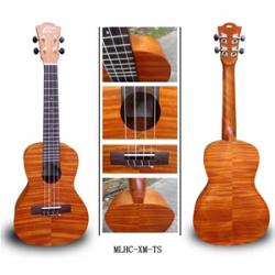 Leho MLUS-XM-TS Soprano Ukulele Laminated Exotic Mahogany Tahitian Sunset c/custodia