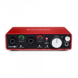 Focusrite Scarlett 2i2 Interfaccia 2' Generaz.