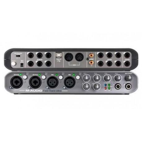 M Audio Fast Track Ultra Interfaccia