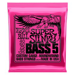 Ernie Ball Slinky 2824 040-125 Muta Corde Basso Elettrico 5 Corde