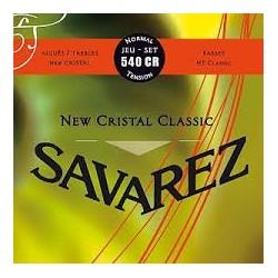 Savarez New Cristal Classic 540CR Muta Corde Chitarra Classica