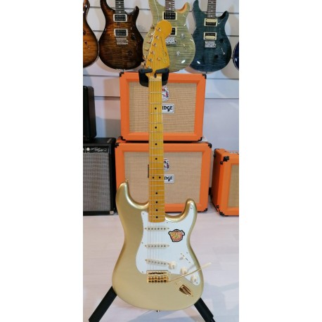 Squier 60Th Anniversary Classic Vibe Strotocaster Maple Fingerboard Aztec Gold
