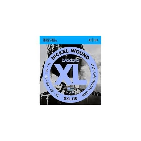 D'Addario EXL116 011-052 Muta Corde Chitarra Elettrica