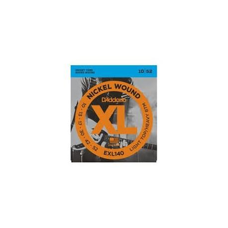 D'Addario EXL140 010-052 Muta Corde Chitarra Elettrica