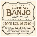 Muta corde banjo